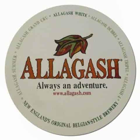 Allagash Beer Mat