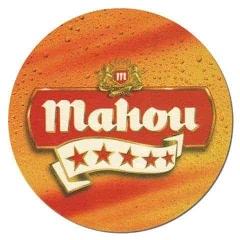 Mahou Beer Mat