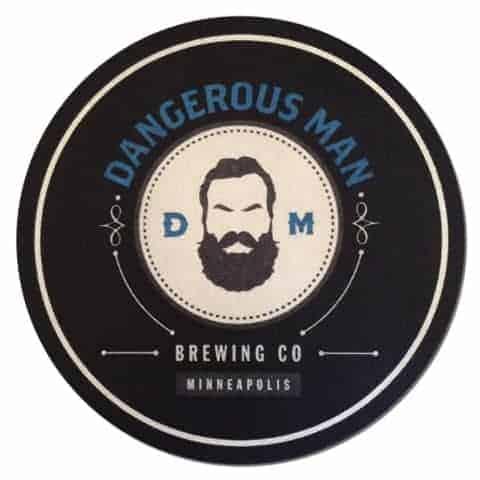 Dangerous Man Brewing Co Beer Mat