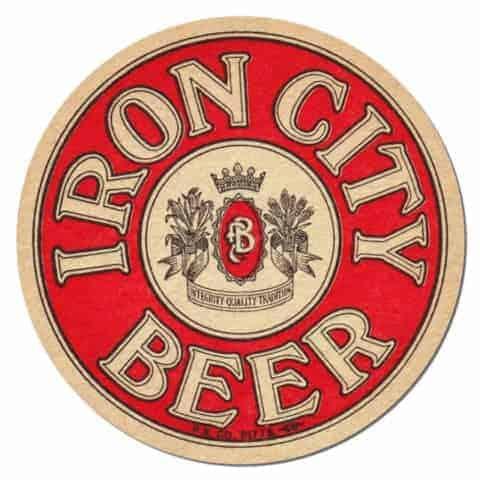 Iron City Beer Coaster