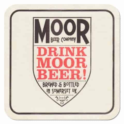 Moor Beer Company Coaster