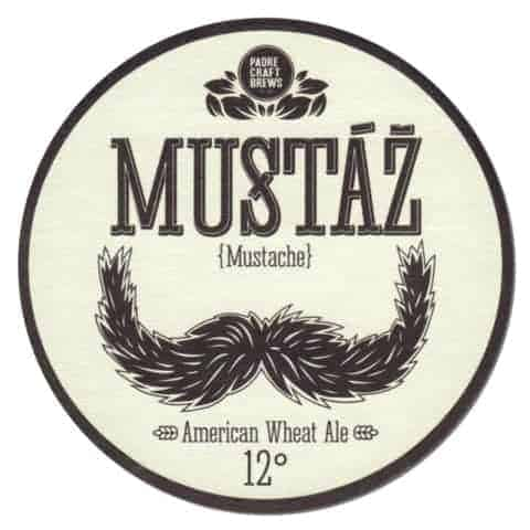 Padre Craft Brews - Mustaz Beer Mat