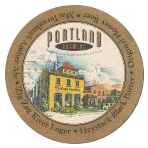 Portland Brewing Beer Mat