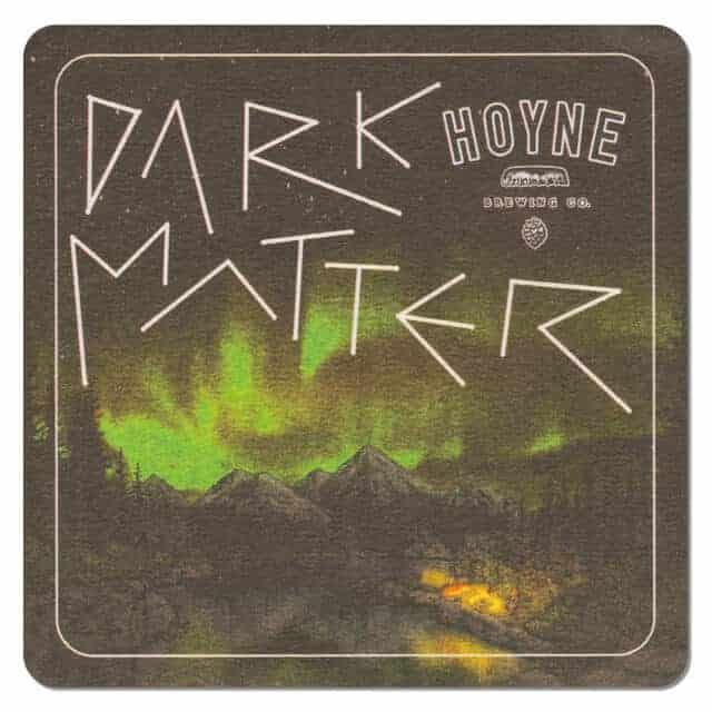 Hoyne Brewing Dark Matter Coaster