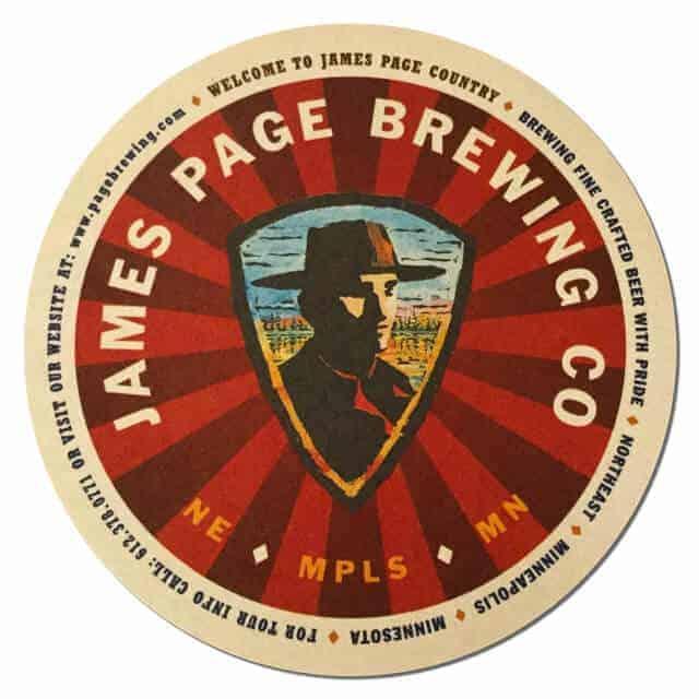 James Page Brewing Company Coaster