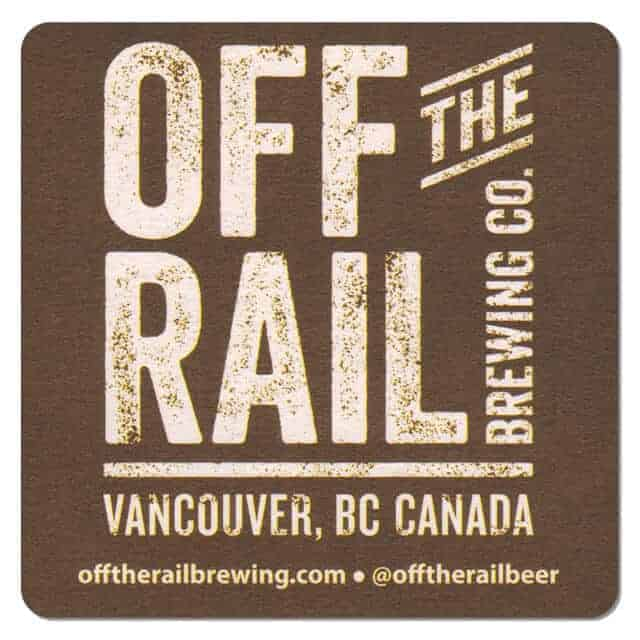Off the Rail Brewing Drip Mat