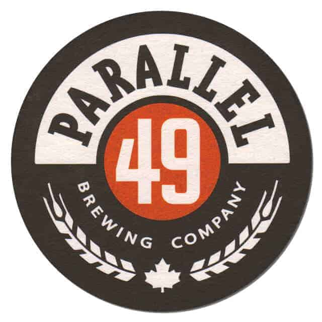 Parallel 49 Brewing Company Coaster