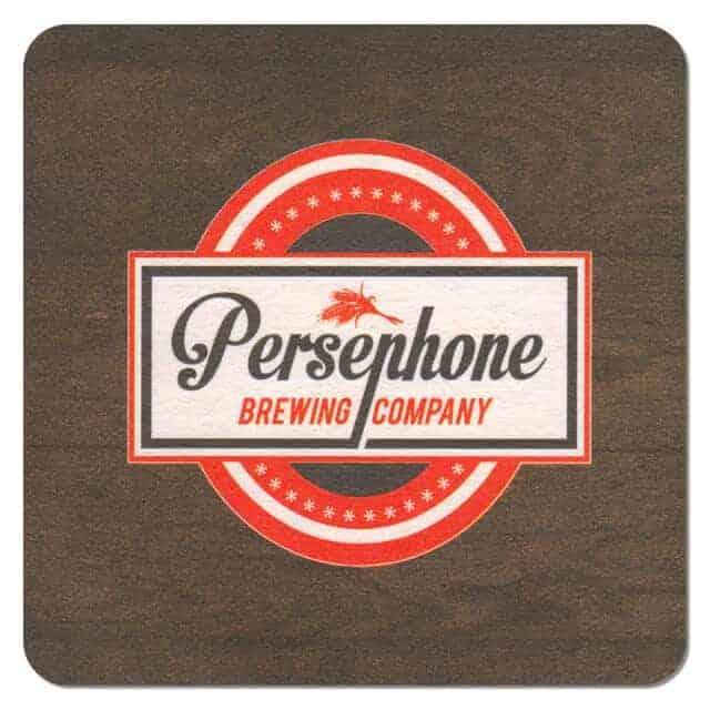 Persephone Brewing Company Coaster
