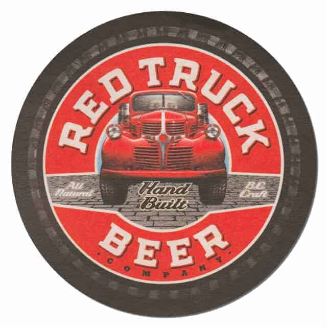 Red Truck Beer Drip Mat