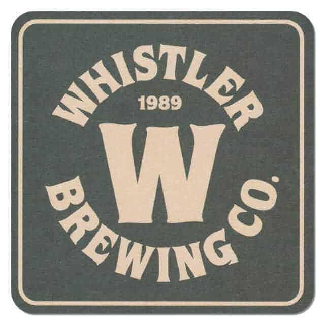 Whistler Brewing Company Coaster