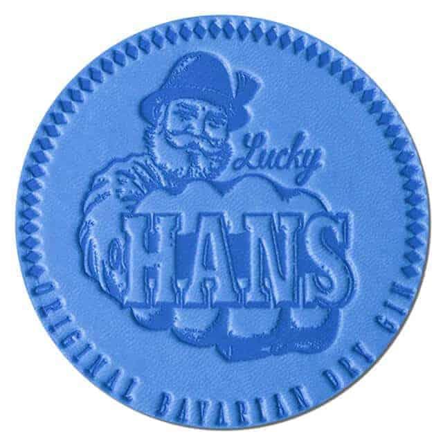 Lucky Hans Bavarian Dry Gin Drip Mat