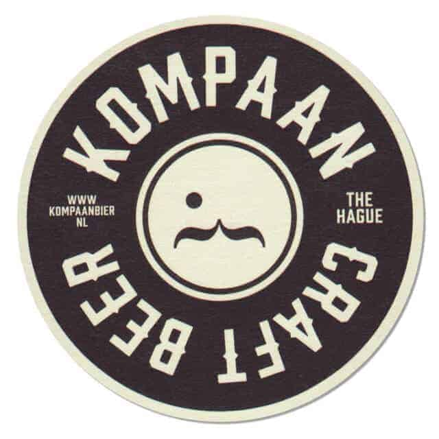 Kompaan Craft Beer Coaster