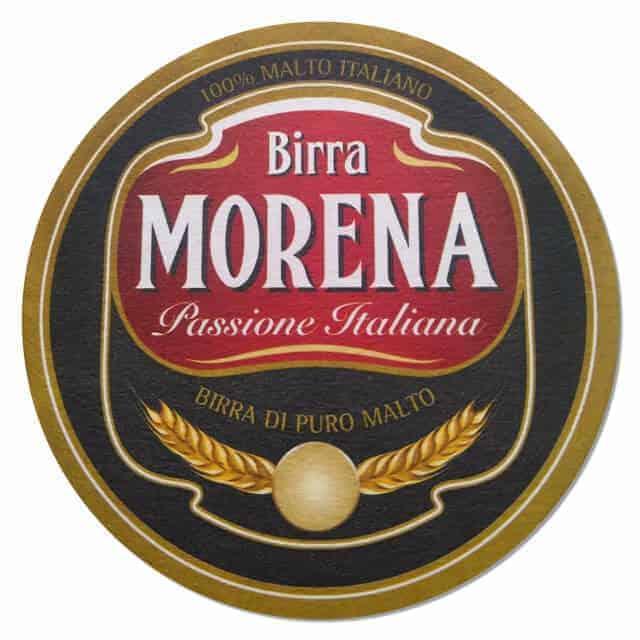 Birra Morena Beer Mat