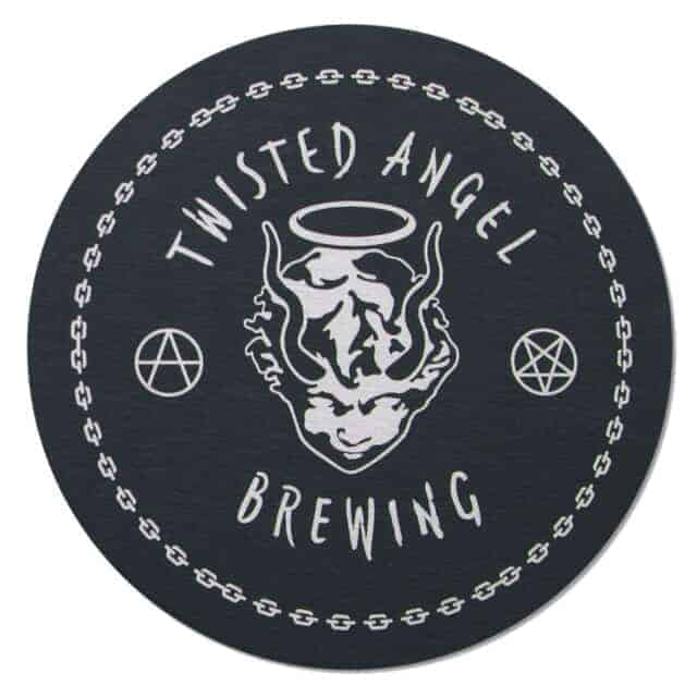 Twisted Angel Brewing Coaster