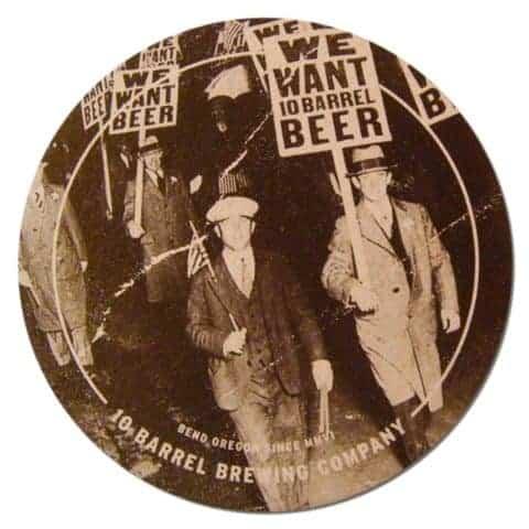 10 Barrel Brewing Company Coaster