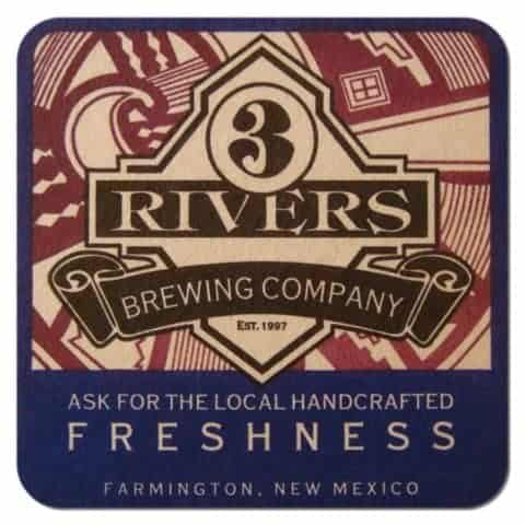 3 Rivers Brewing Drip Mat