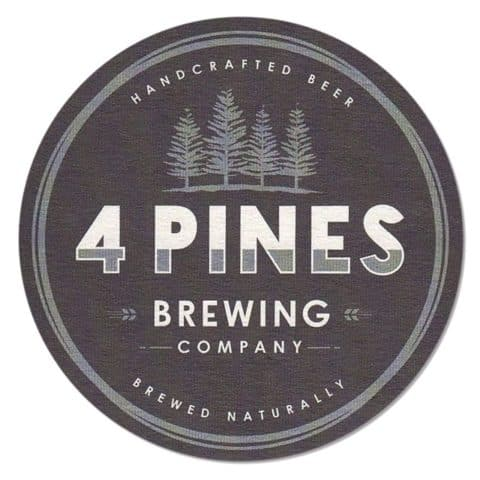 4 Pines Brewing Company Beer Mat