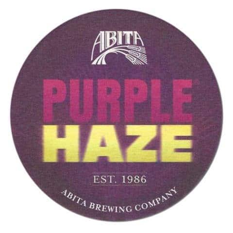 Abita Purple Haze Drip Mat Front