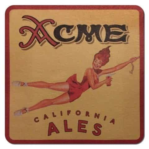Acme California Ales Coaster