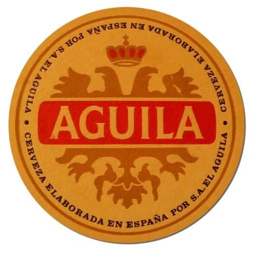 Aguila Beer Mat
