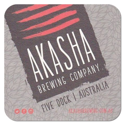 Akasha Brewing Beer Mat
