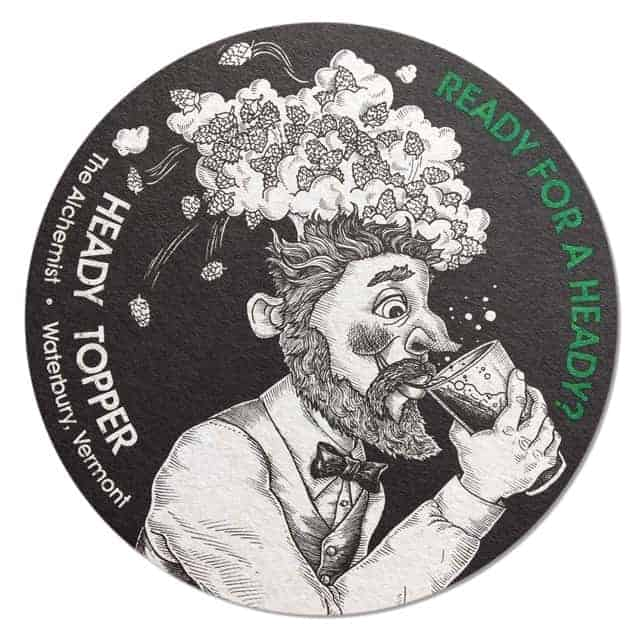 Alchemist Beer - Heady Topper Coaster