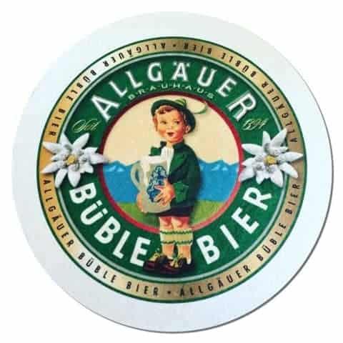 Allgauer Buble Bier Drip Mat