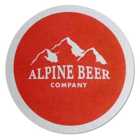 Alpine Beer Company Coaster