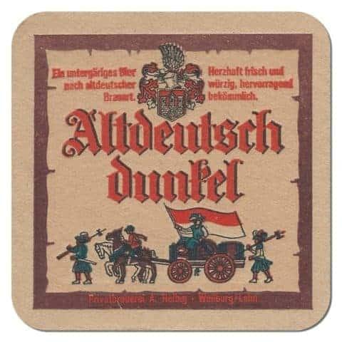 Altdeutsch Dunkel Beer Mat