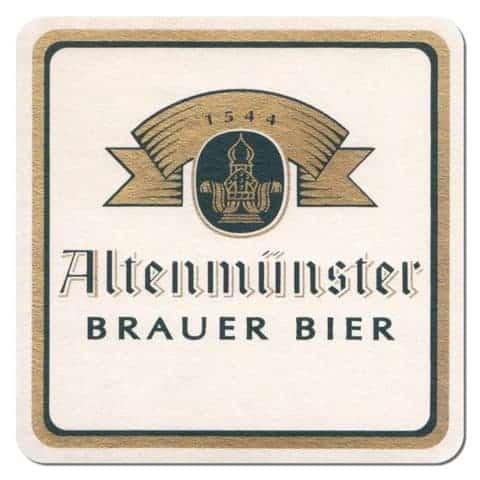 Altenmunster Beer Mat