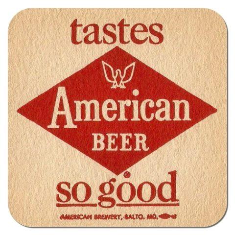 American Beer Coaster