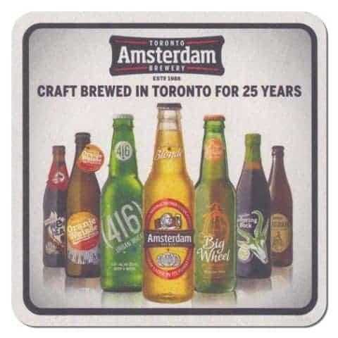 Amsterdam Brewery Drip Mat