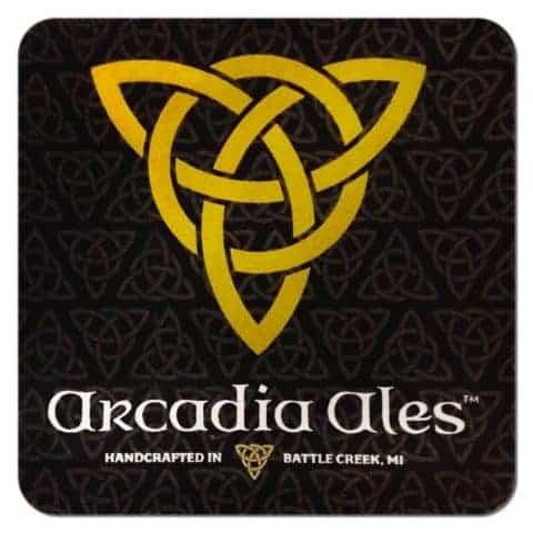 Arcadia Ales Beer Mat