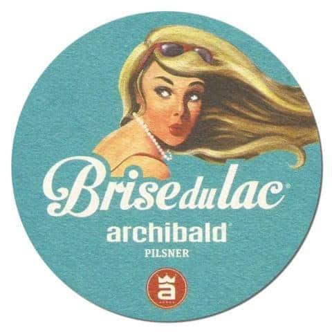 Archibald - Brise du Lac Beer Mat