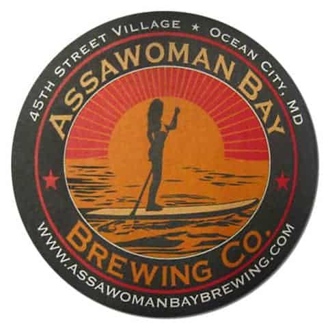 Assawoman Bay Brewing Coaster