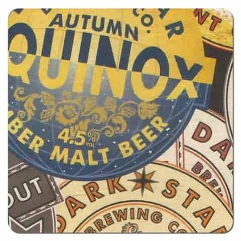 Autumn Equinox Beer Mat