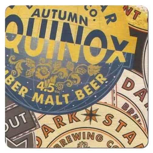 Autumn Equinox Beer Mat