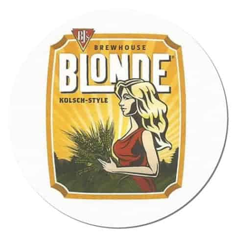 BJ's Brewhouse Blonde Beer Mat
