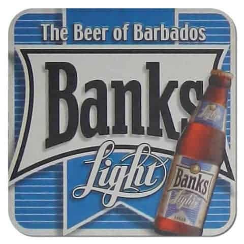 Banks Light Beer Mat