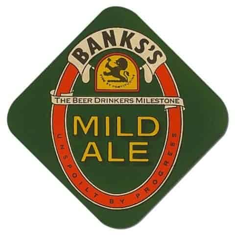 Banks Mild Ale Beer Mat