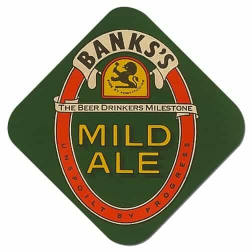 Banks Mild Ale Beer Mat