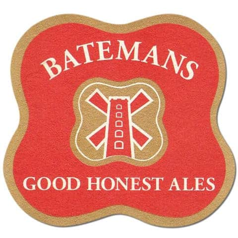 Batemans Beer Mat