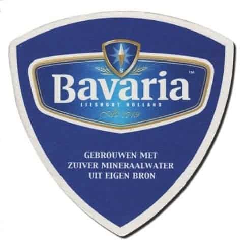 Bavaria Beer Mat Front
