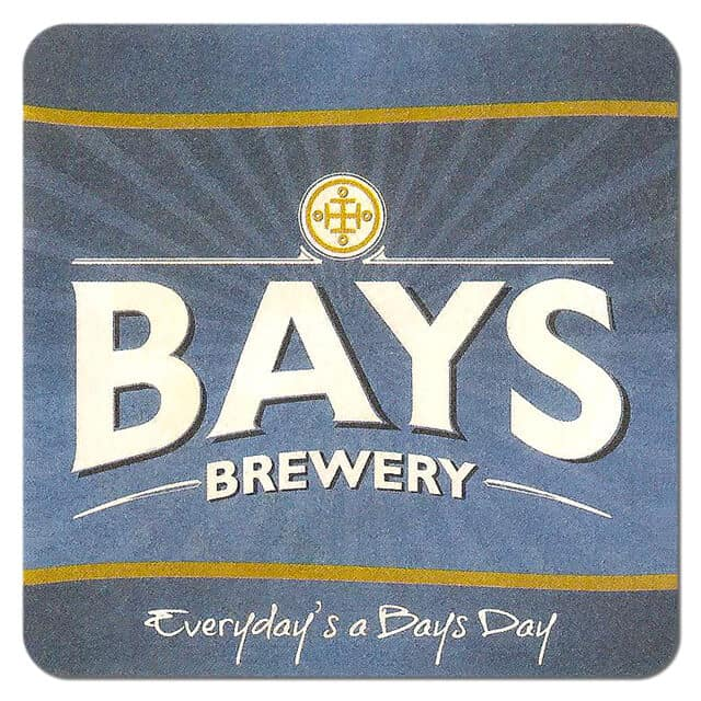 Bays Brewery Beer Mat