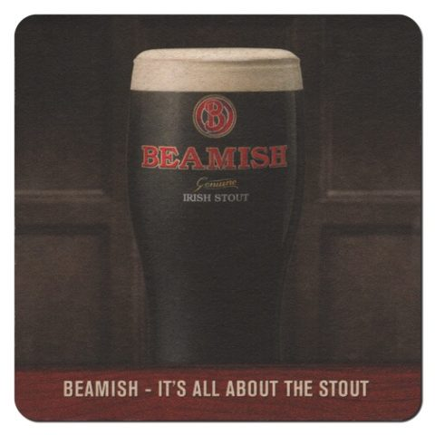 Beamish Beer Mat Front