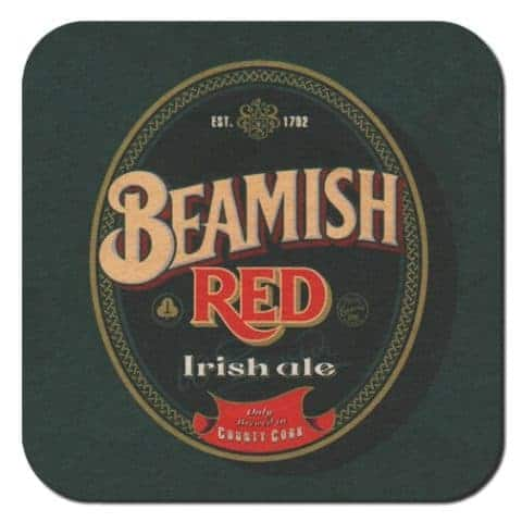 Beamish Red Beer Mat