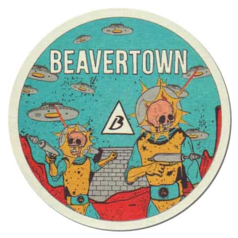Beavertown Brewery Beer Mat