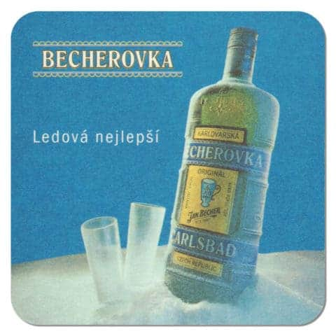 Becherovka Coaster