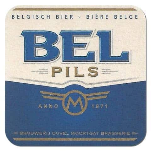 Bel Pils Beer Mat