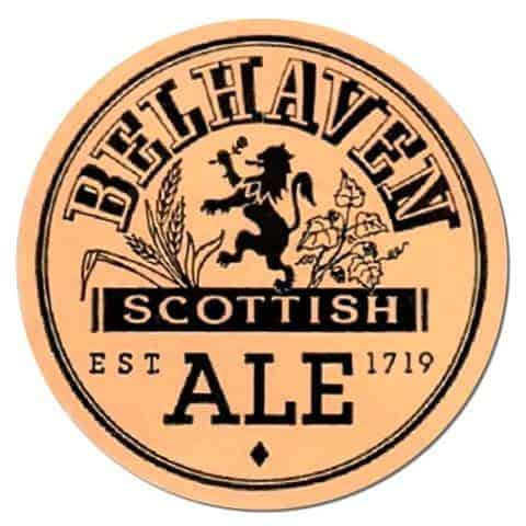 Belhaven Scottish Ale Beer Mat